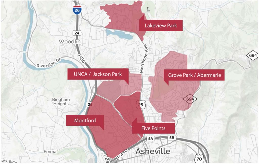 North Asheville homes for sale